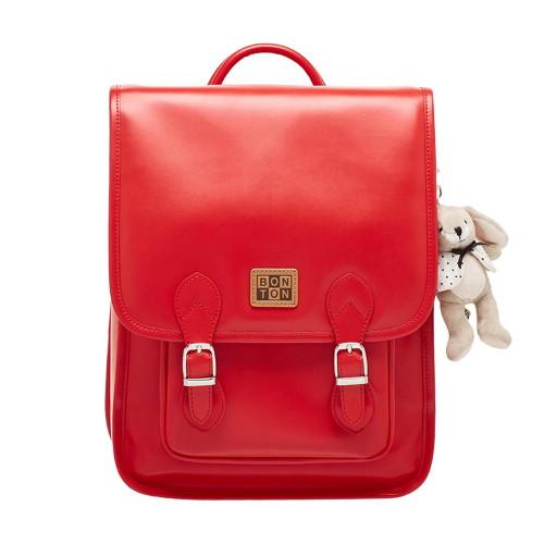 봉통 [BONTON] Bonton classic PU backpack (BQS33UP11K_RD)