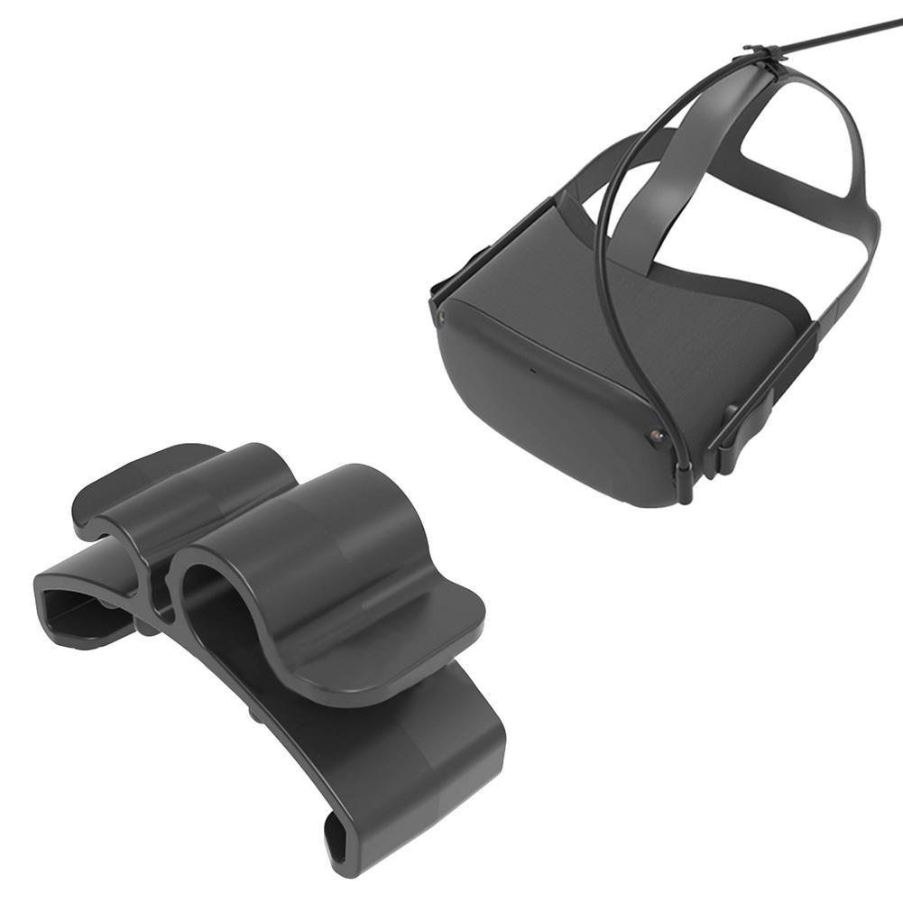 OCULUS QUEST 2 VR 헤드셋 용 케이블 클램프 가상 현실 액세서리 휴대용 코드 클립 와이어 오거나이저 개, CHINA|Standard