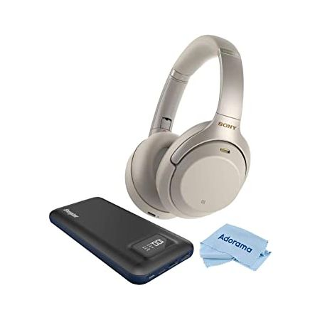 Sony WH-1000XM3 Wireless Bluetooth Noise-Canceling Over-The-Ear Headphones with Mic and Alexa Voice, 상세 설명 참조0