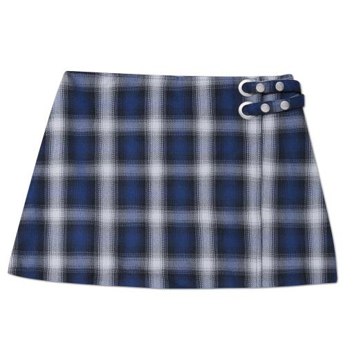 MARYJAMES (W) Lune Skirt - Blue