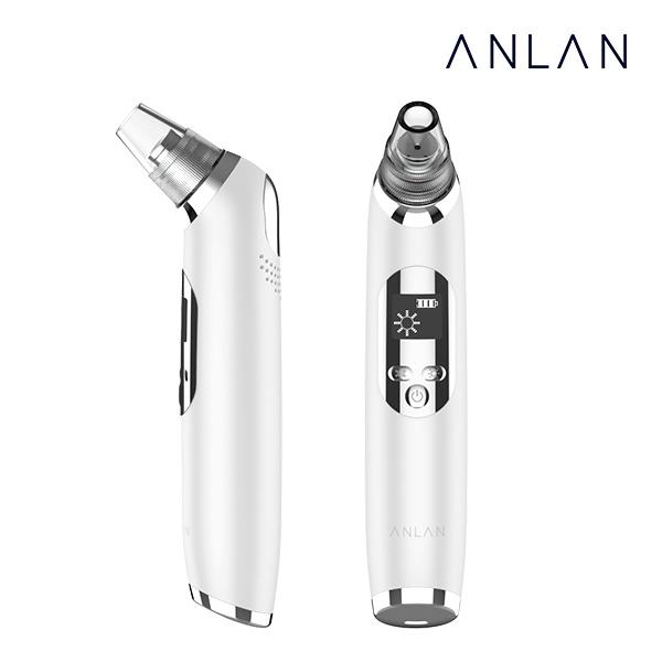 ANLAN 블랙헤드 제거기 피지흡입기 냉온 기능추가 업그레이드버전, 1개, 화이트