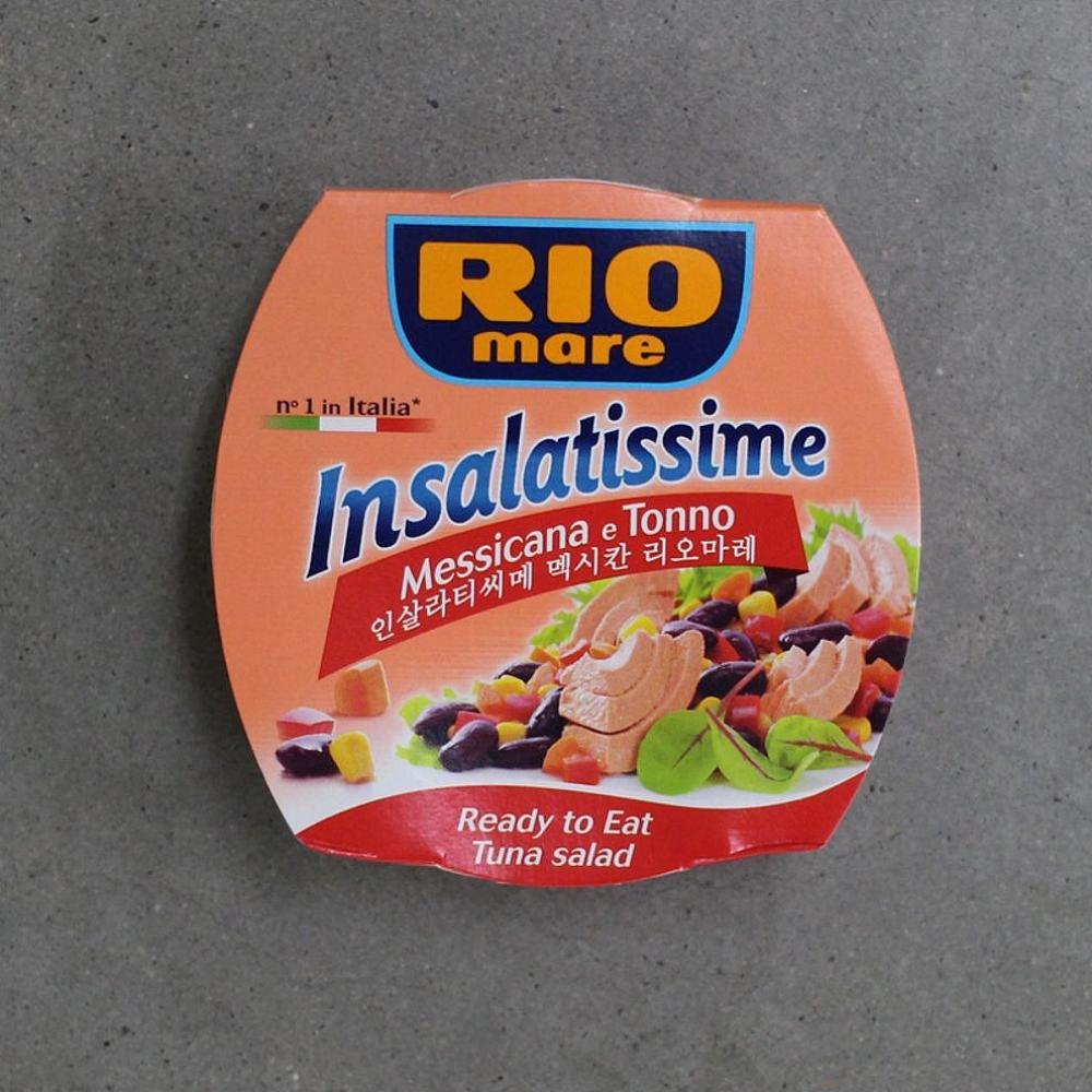 씨앤지타임 인살라티씨메 멕시칸 리오마레 튜나 샐러드 160g 1개 고추 야채 가미참치통조림, 1