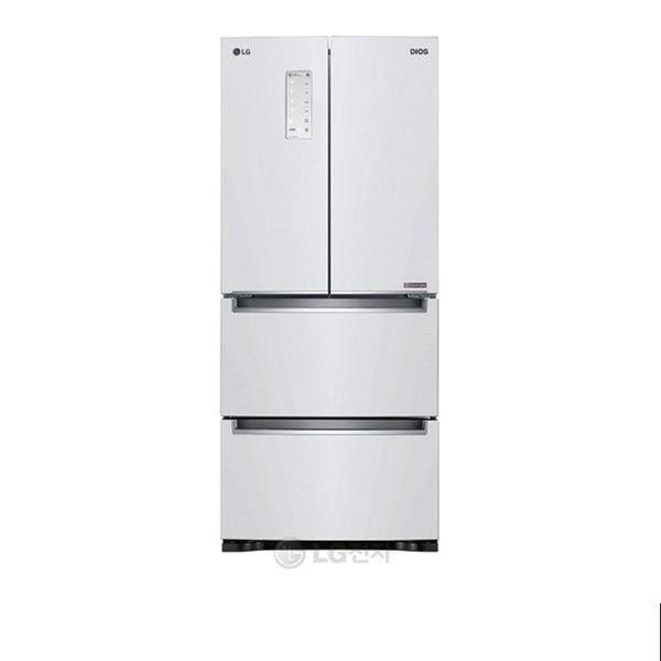 [LG전자] DIOS 김치톡톡 스탠드 김치냉장고 K419W11E /402L, 상세 설명 참조