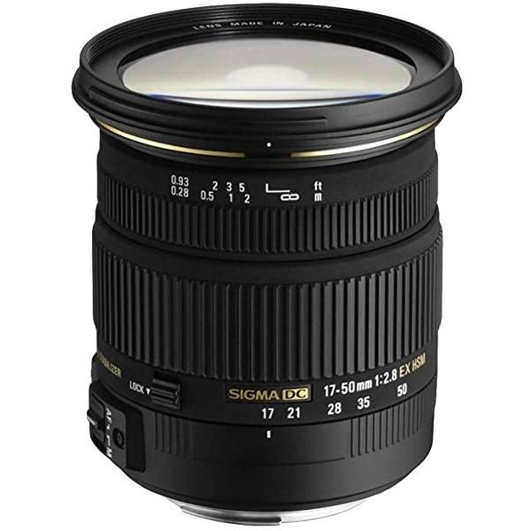Sigma 17-50mm F2.8 EX DC HSM Lens (77mm Filter Thread), for Pentax lens bayonet_Single