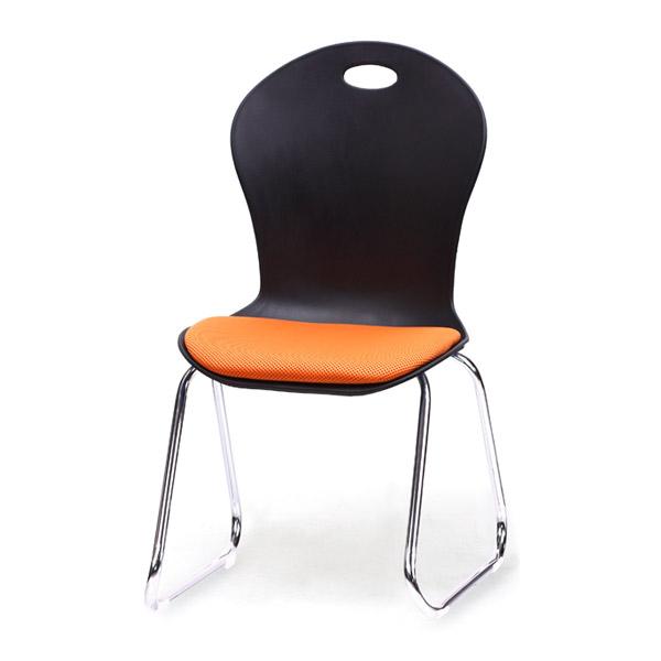 하이솔로몬 학원의자 학생의자 공부방의자 라바의자 C29, C29(블랙바디/메쉬원단)-오렌지