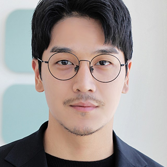 오버사이즈 남자 여자 동글이 블루라이트 차단 안경 52103