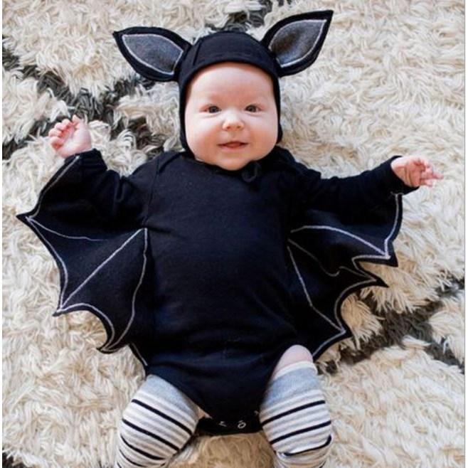 코코나빈 베이비 할로윈 의상 박쥐