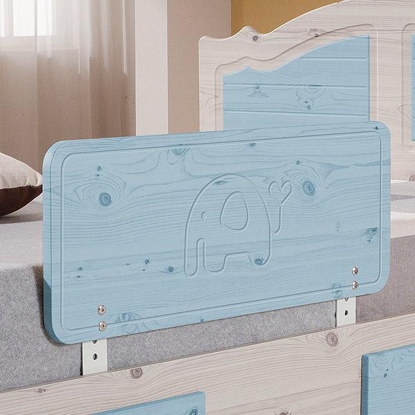 젠티스 침대안전가드, 블루 80cm