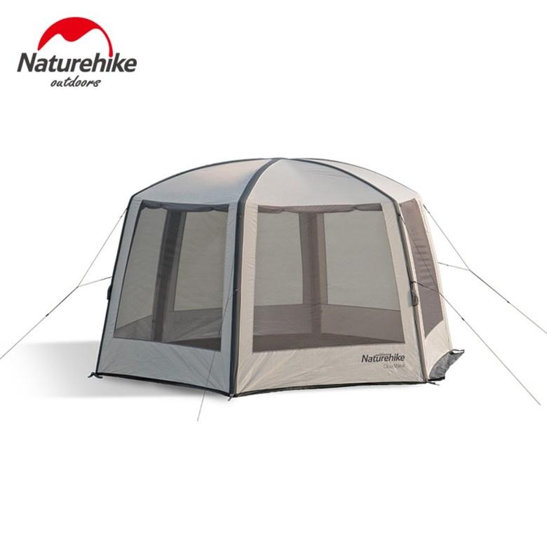 Naturehike 육각 에어폴대 텐트 넓은 공간감 8인이상 리빙쉘텐트, 단일컬러