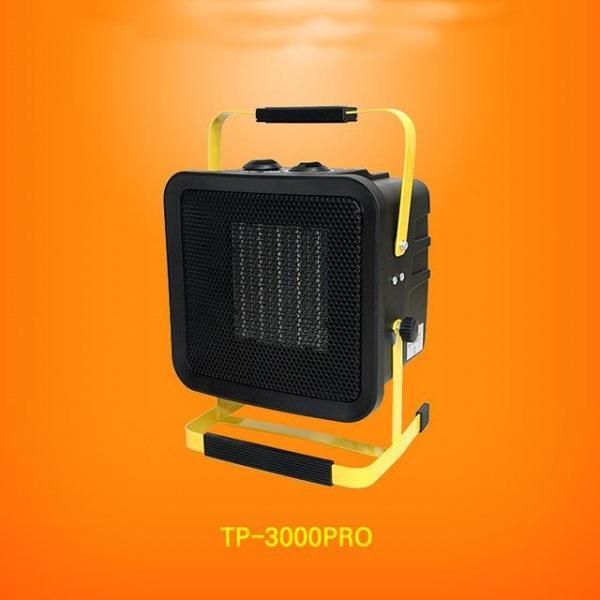 가스없는 난방 전기 PTC 온풍기 팬히터 15형, 1개