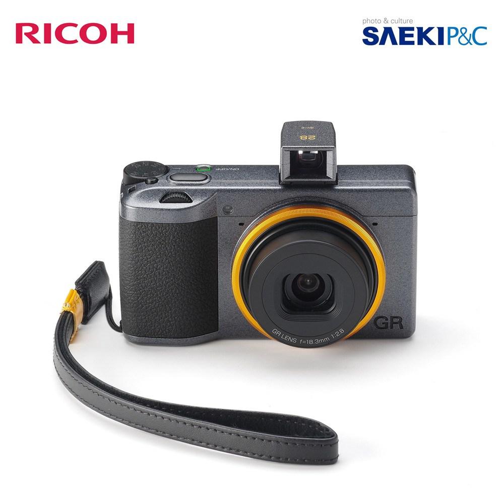RICOH 정식 정품 리코 GR3 스트리트 에디션 발매킷 (파인더+스트랩+링) 하이엔드카메라, GR3 스트리트 에디션 리밋 에디션