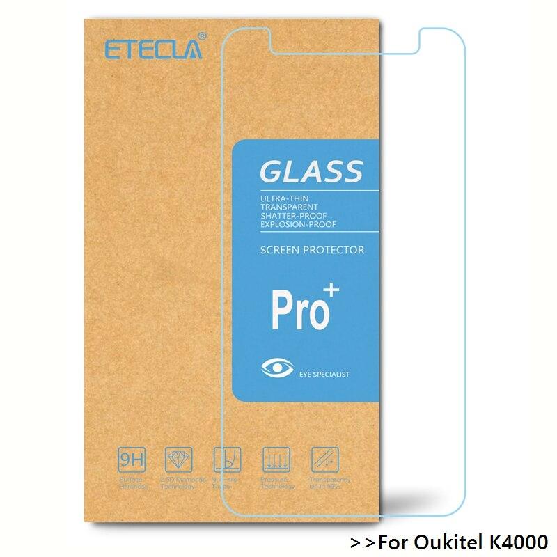 Oukitel k4000 유리에 3 pcs oukitel k4000 강화 유리 oukitel k4000 라이트 스크린 프로텍터 0.26mm hd 투명 유리, 1개, 단일