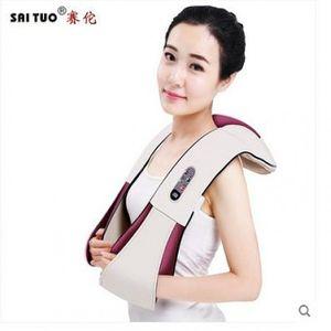HKC25360 2개묶음 시원하게 어깨 주물러주고 두드려주는 안마기 허리안마기 진동마사지기, 1