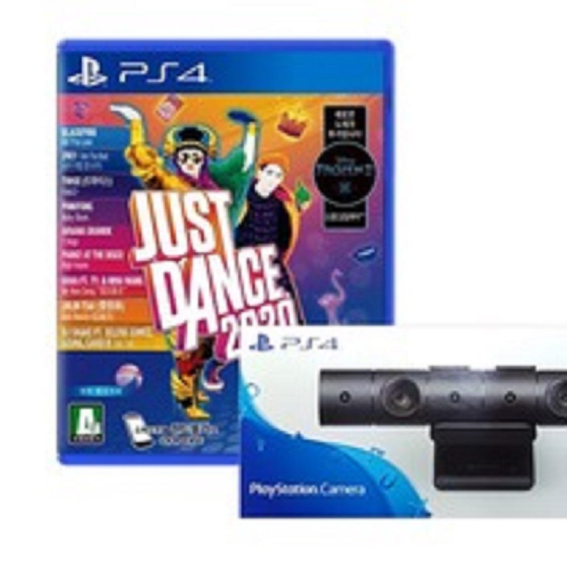 PS4 저스트댄스 2020 새제품 + ps4 카메라, PS4 저스트댄스 2020 새제품 + ps4 카메라 새제품