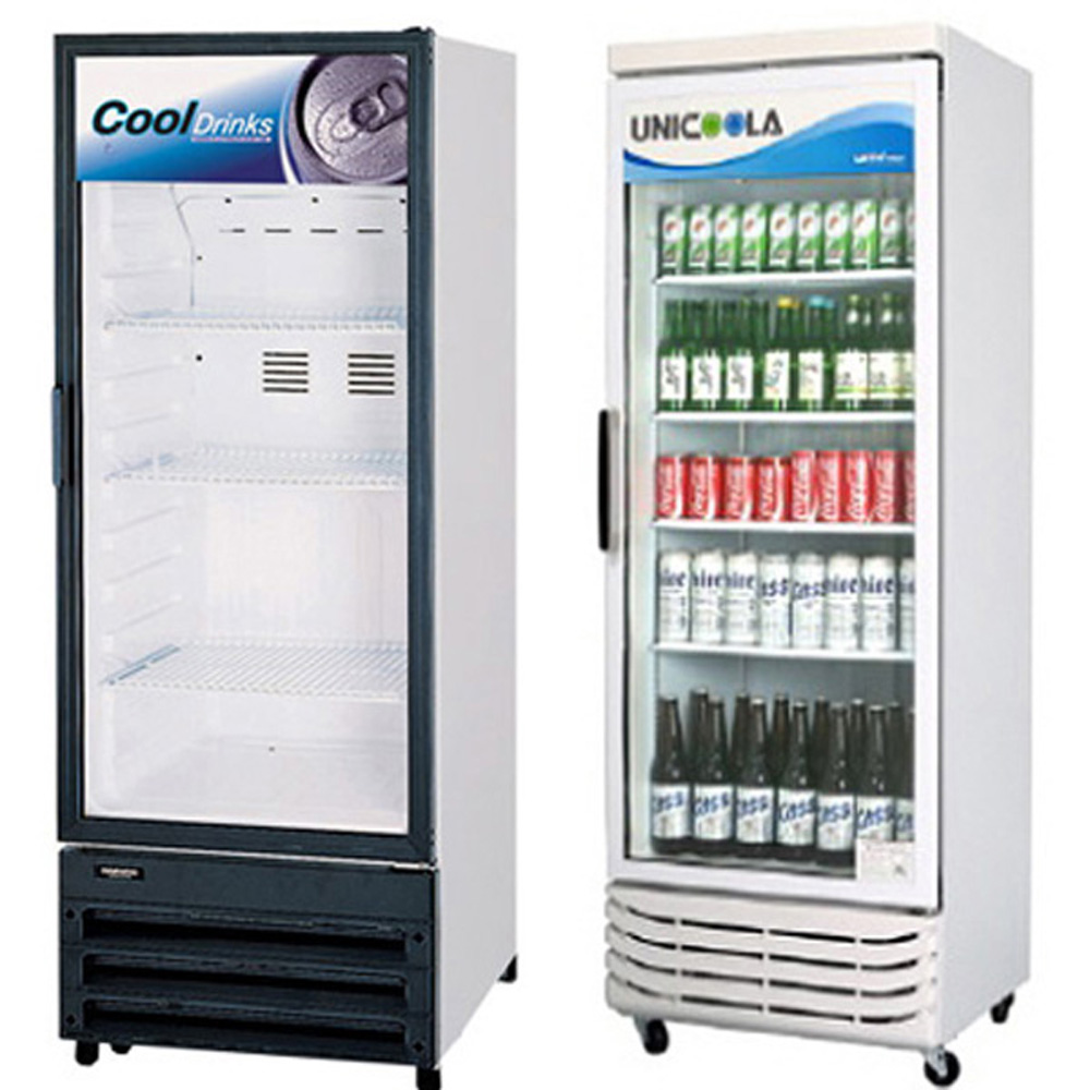 쇼케이스 음료수냉장고 수직아이스크림냉동고, 냉장고