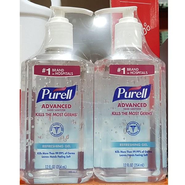 Purell 웰킵스 퓨렐 어드밴스드 손소독제 (354ml X 2개입) 미국, Sanitizer, 단일상품
