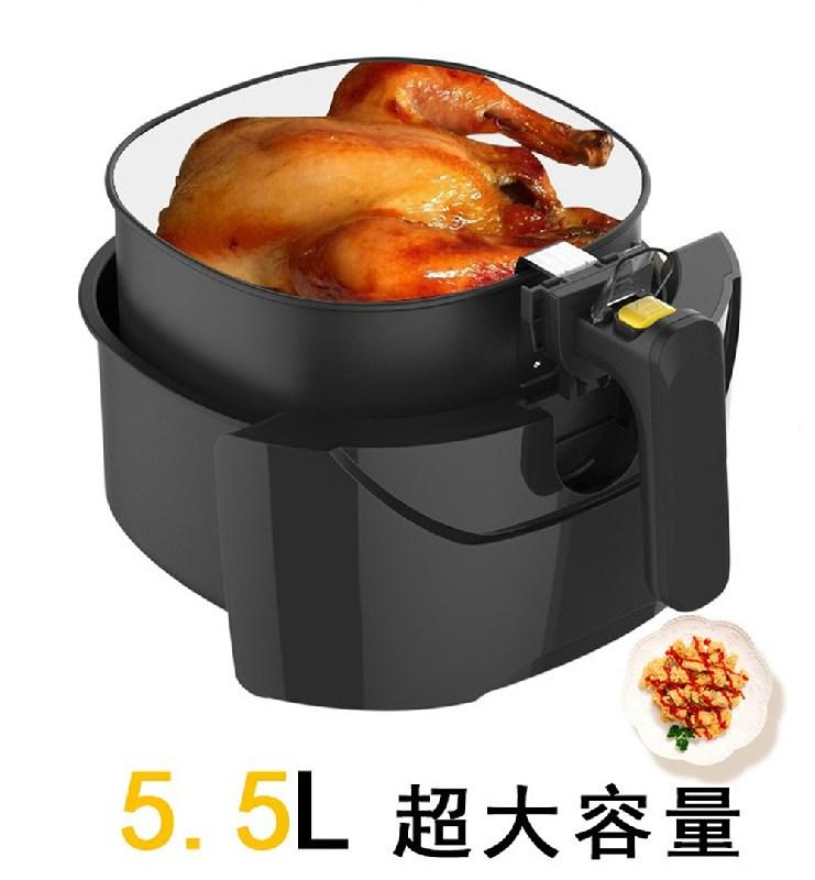 Qita 업소 가정용 에어프라이어 공기 대용량튀김기 5.5L, 2.6L 용량