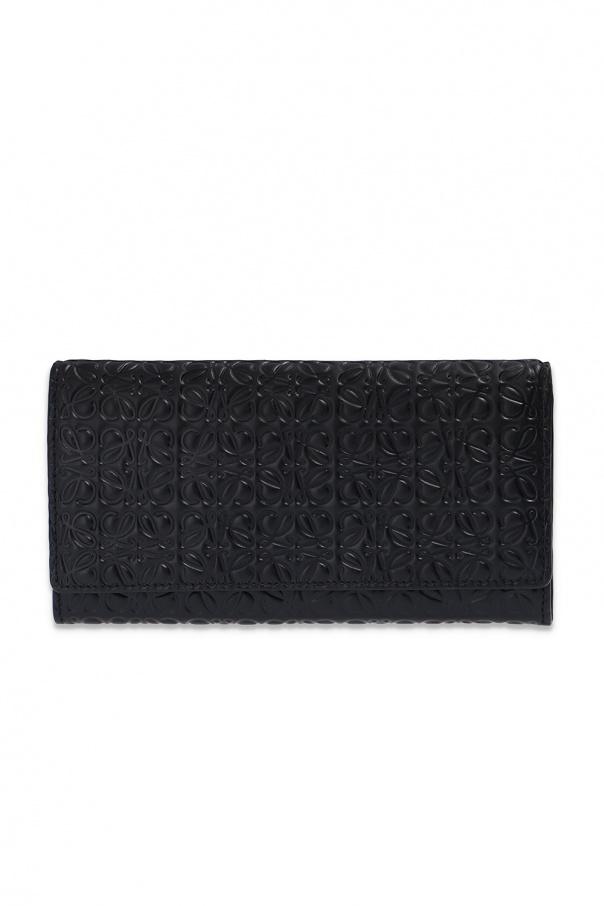 로에베 지갑 로고 - BLACK - UNI 10755K98 0-BLACK 150불 이상 주문시 부가세 별도