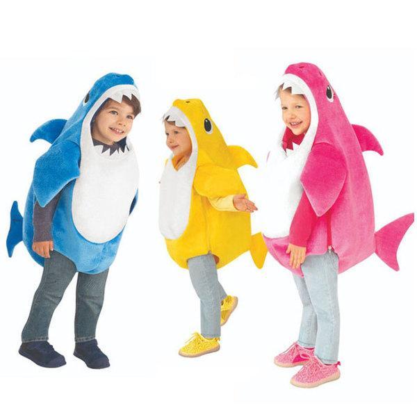 귀욤 아기상어 가족 코스튬 할로윈 코스프레 의상