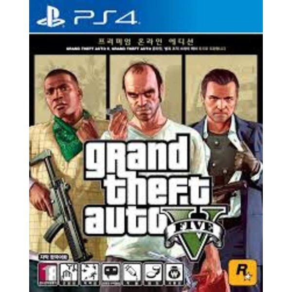 PS4 GTA5:프리미엄에디션, 단일상품