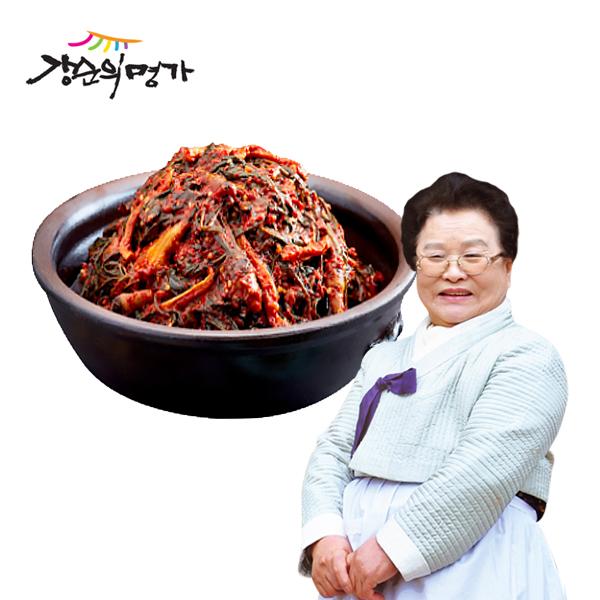 [K쇼핑]강순의명가 고들빼기김치 1kg, 단일상품