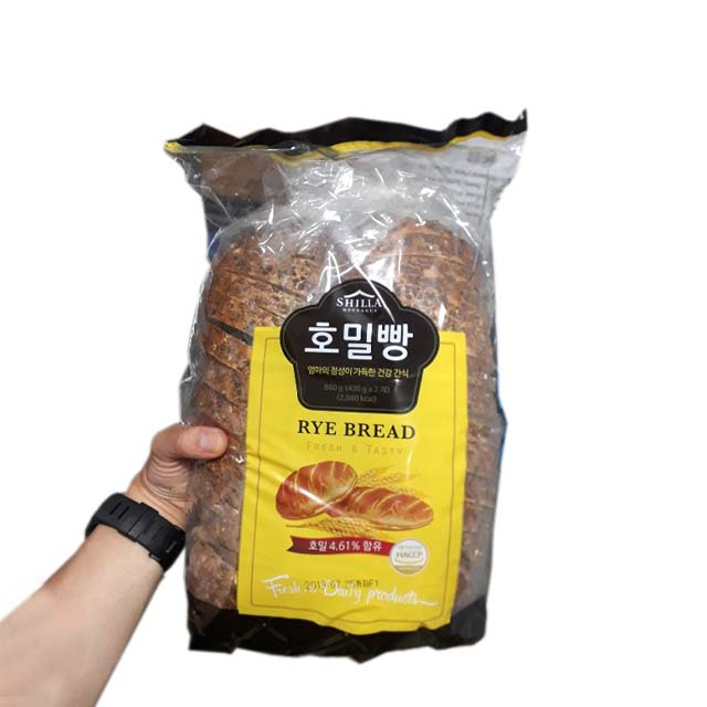신라명과 호밀빵, 430g, 2봉