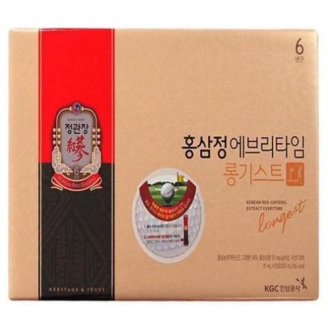 정관장 홍삼정 에브리타임 롱기스트, 200ml, 3세트
