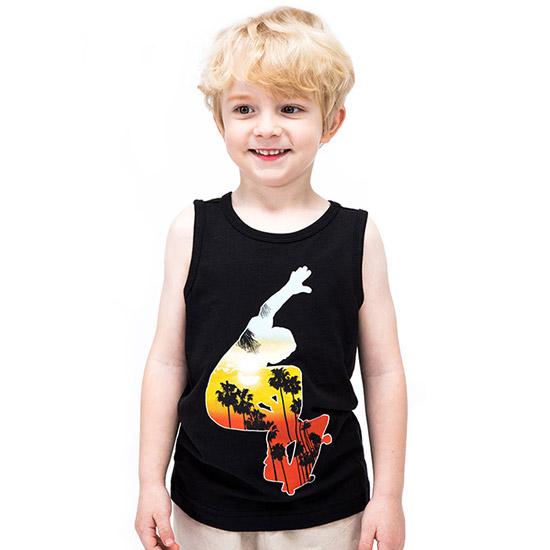 짐보리 (아동)민소매티셔츠 GTS2419719_BK_