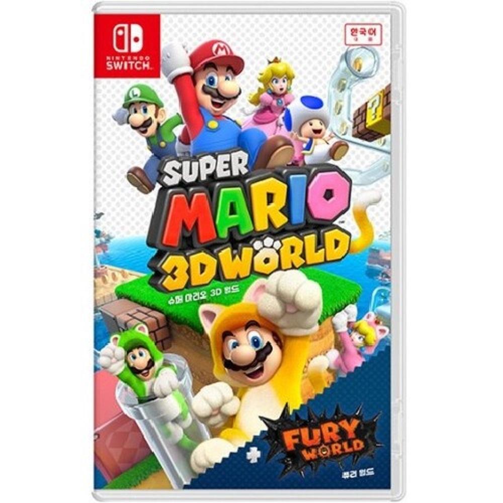 닌텐도 스위치 슈퍼마리오 3D월드+퓨리월드 한글판 새제품