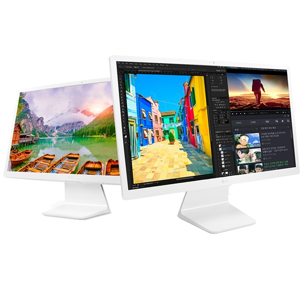 (LG전자 일체형 PC 24V570-GA51K (SSD 512GB 교체 교체/전자/일체형, 단일 색상, 단일 모델명/품번
