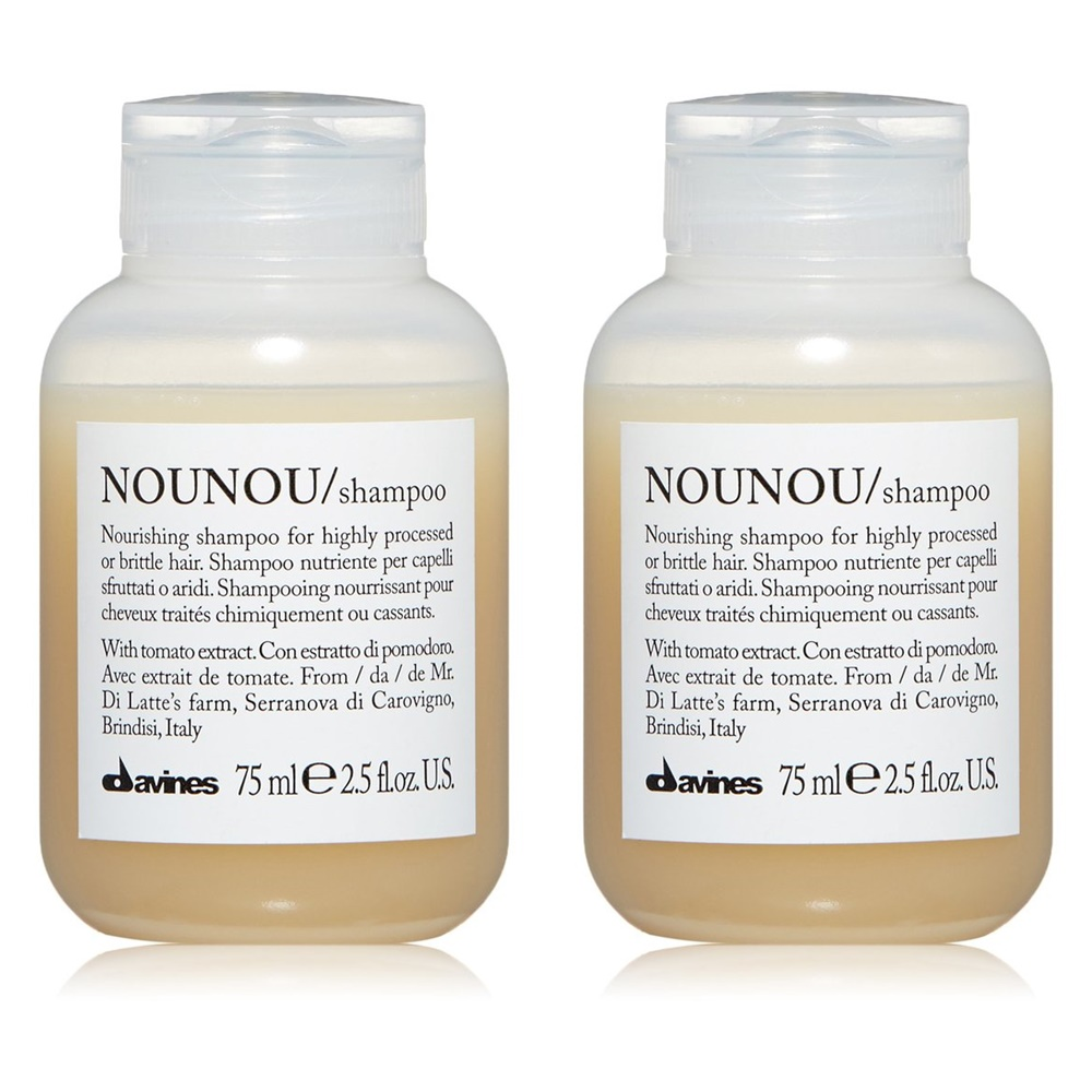 Davines Nounou Shampoo 다비네스 노우노우 샴푸 2.5oz(75ml) 2팩