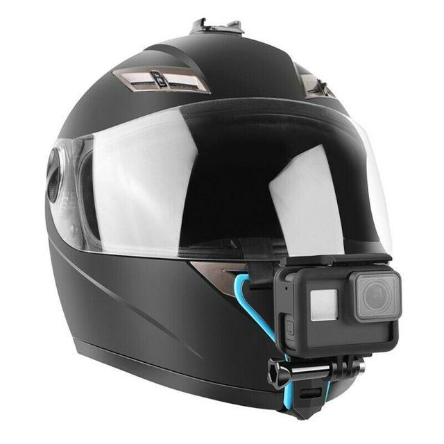 액션캠 헬멧 턱 친 마운트 고프로 오즈모 SJ4000 POV GOPRO, 1개, 상세페이지참조()