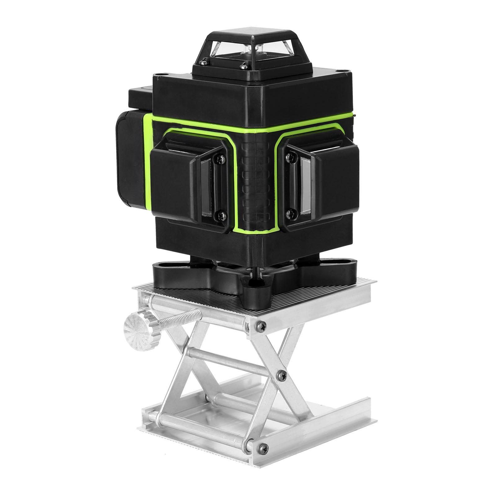 케이케이문 16선 4D 레이저 레벨기 세트 그린레이저 /수평계 배터리 2개, B세트
