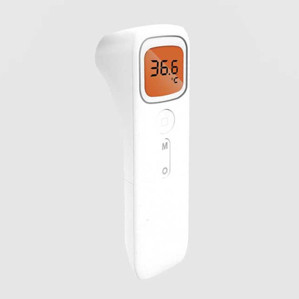 포솔로 비대면 적외선 비접촉온도계 온도측정기 국산 디지털 열체크기 케어유2, 1개