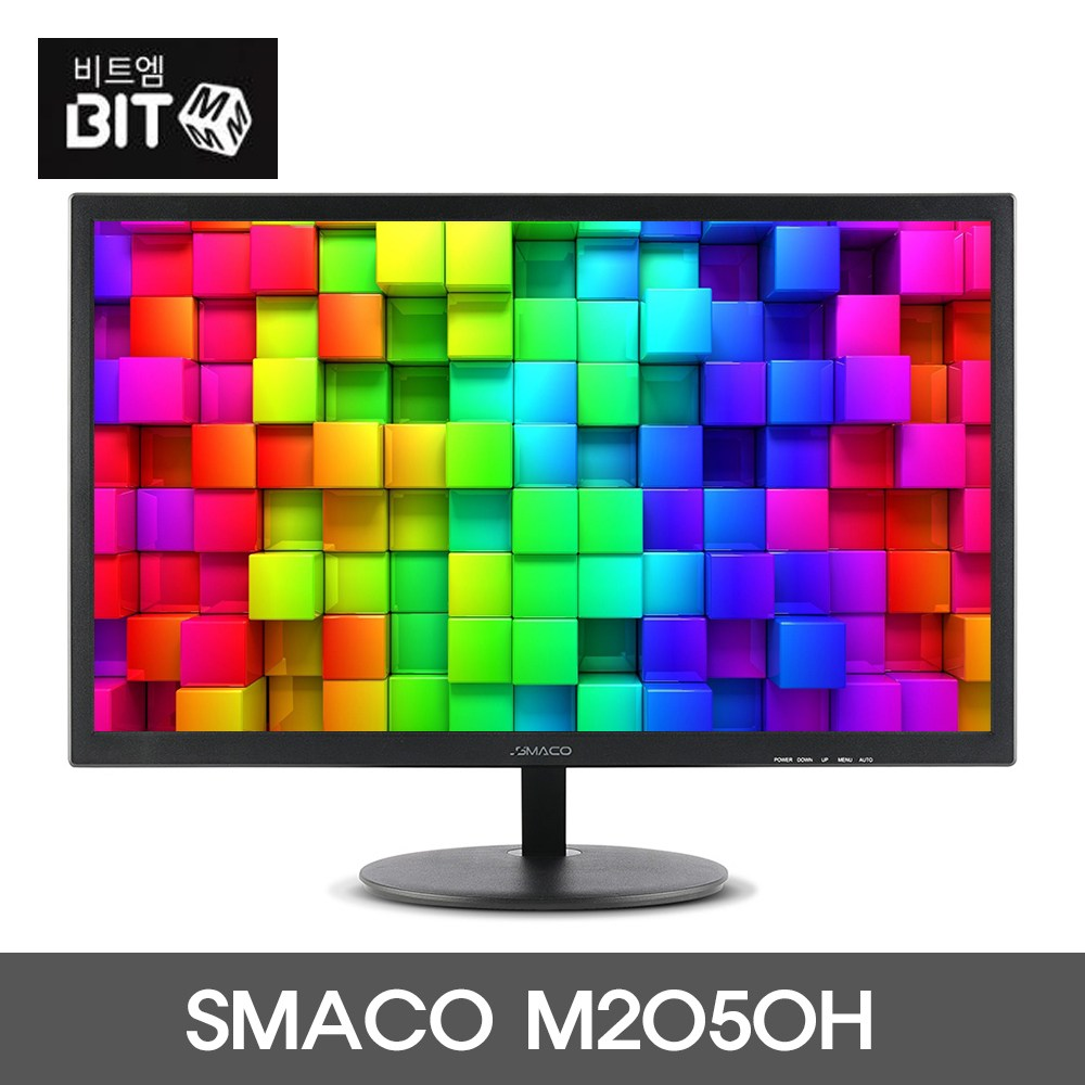 SMACO M2050H 프리싱크 HDR 20인치모니터, 1.M2050H HDR 일반