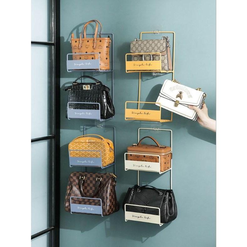 가방 보관 걸이 정리함 정리대 4color(당일발송), 화이트