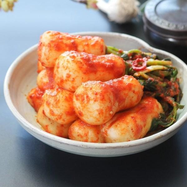 집밥명가 뜰안 수제 총각김치 무청김치, 1팩, 3kg