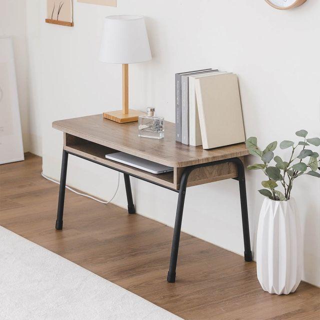 [천삼백케이] [아이리스코리아] 아이리스 포미 우드 좌식 테이블 책상 IWCT-800, 단품