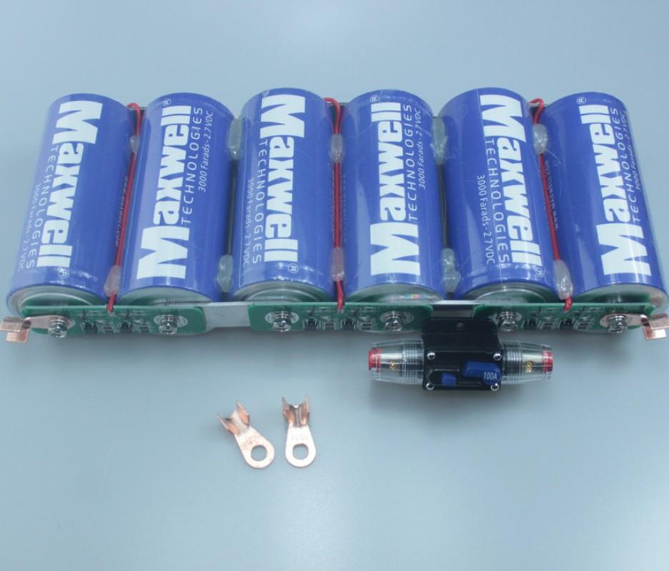 미국 맥스웰 16V 500F 자동차용 EDLC 슈퍼캐패시터 전압안정기 정류기, 단일상품개