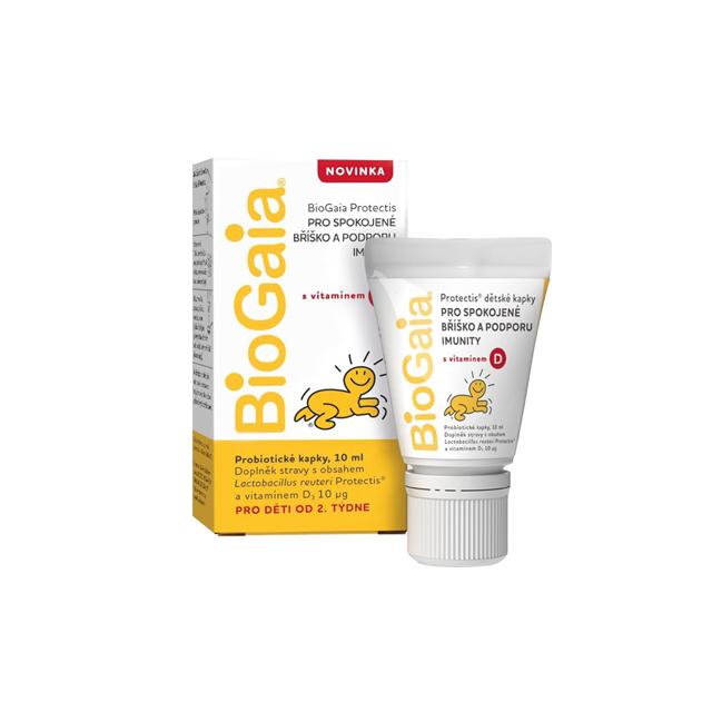 바이오가이아 유산균 비타민D 10ml(튜브형), 1개