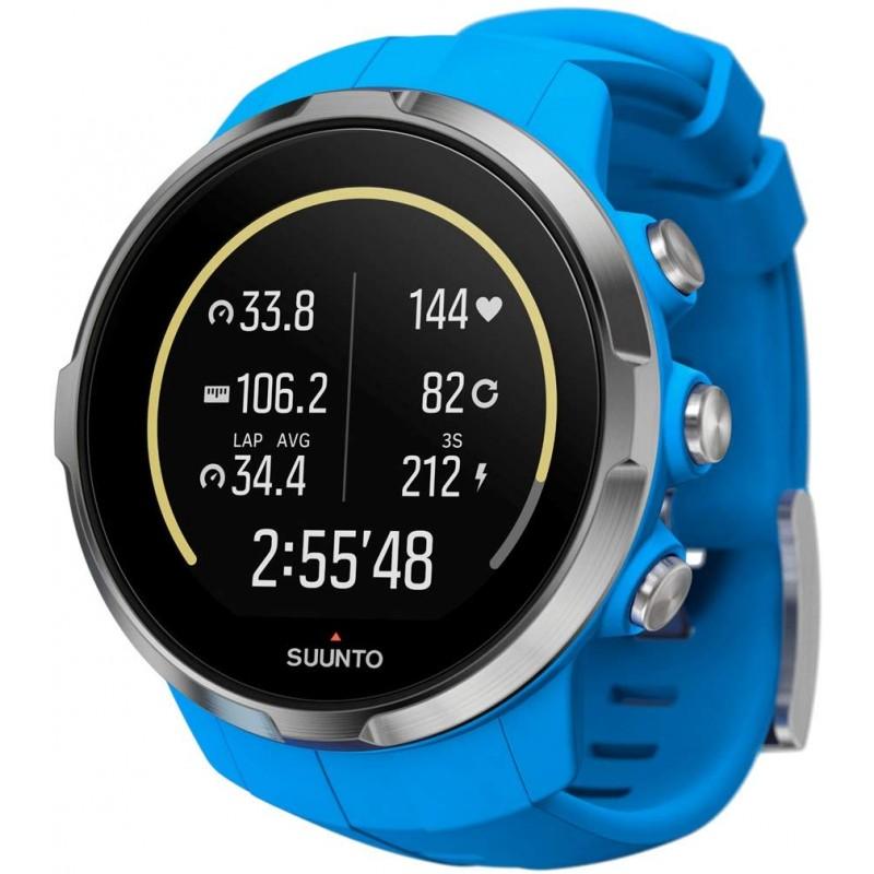 순토 (SUUNTO) 시계 스파르탄 스포츠 블루 10 기압 방수 GPS 속도 / 거리 / 고도 측정 [일본 정품 메이커, 단일상품, 단일상품