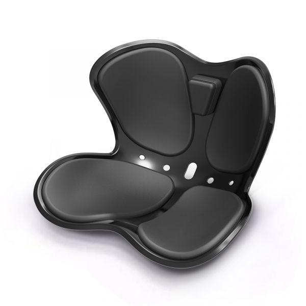 나비형 커블 손연재 의자 와이더 허리 디스크 보조 체어, 레드