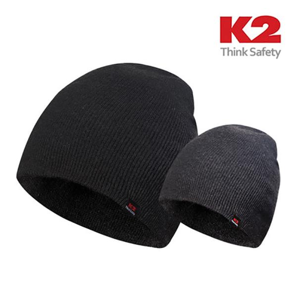 [K2] 정품 비니 IMW16950 숏비니/니트모자, 색상:블랙
