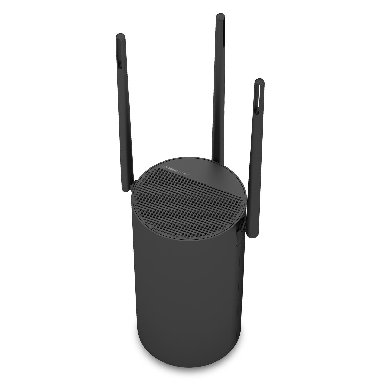 아이피타임 A6004MX 유무선 인터넷 와이파이 공유기 AC1900, 블랙