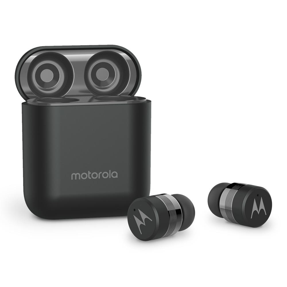 모토로라 버브버즈 110 완전 무선 블루투스 이어폰, {Vervebuds110-BK}, 블랙