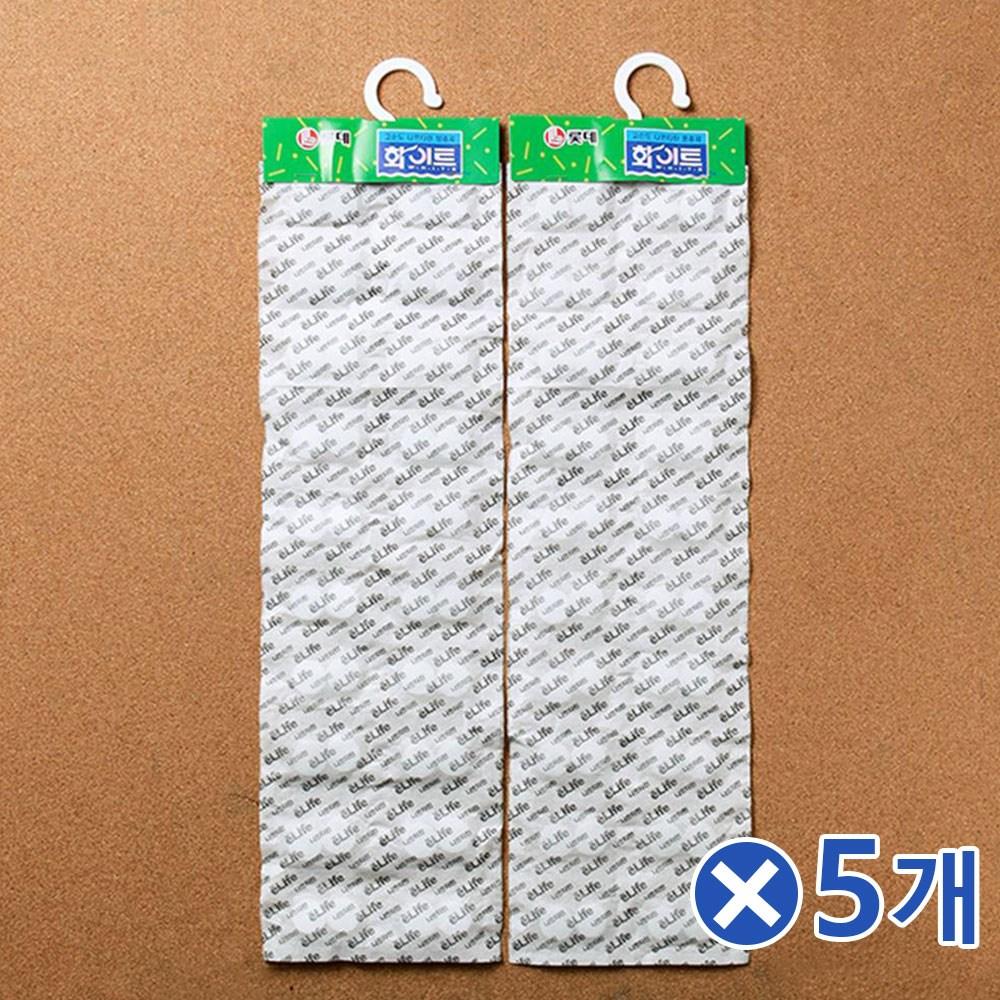 D 옷장 서랍장용 걸이형 방충제 2px5개 옷장곰팡이제거, 단일 수량