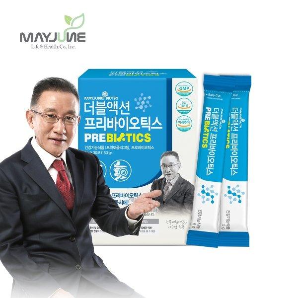 메이준 더블액션 프리바이오틱스, 6박스, 5g