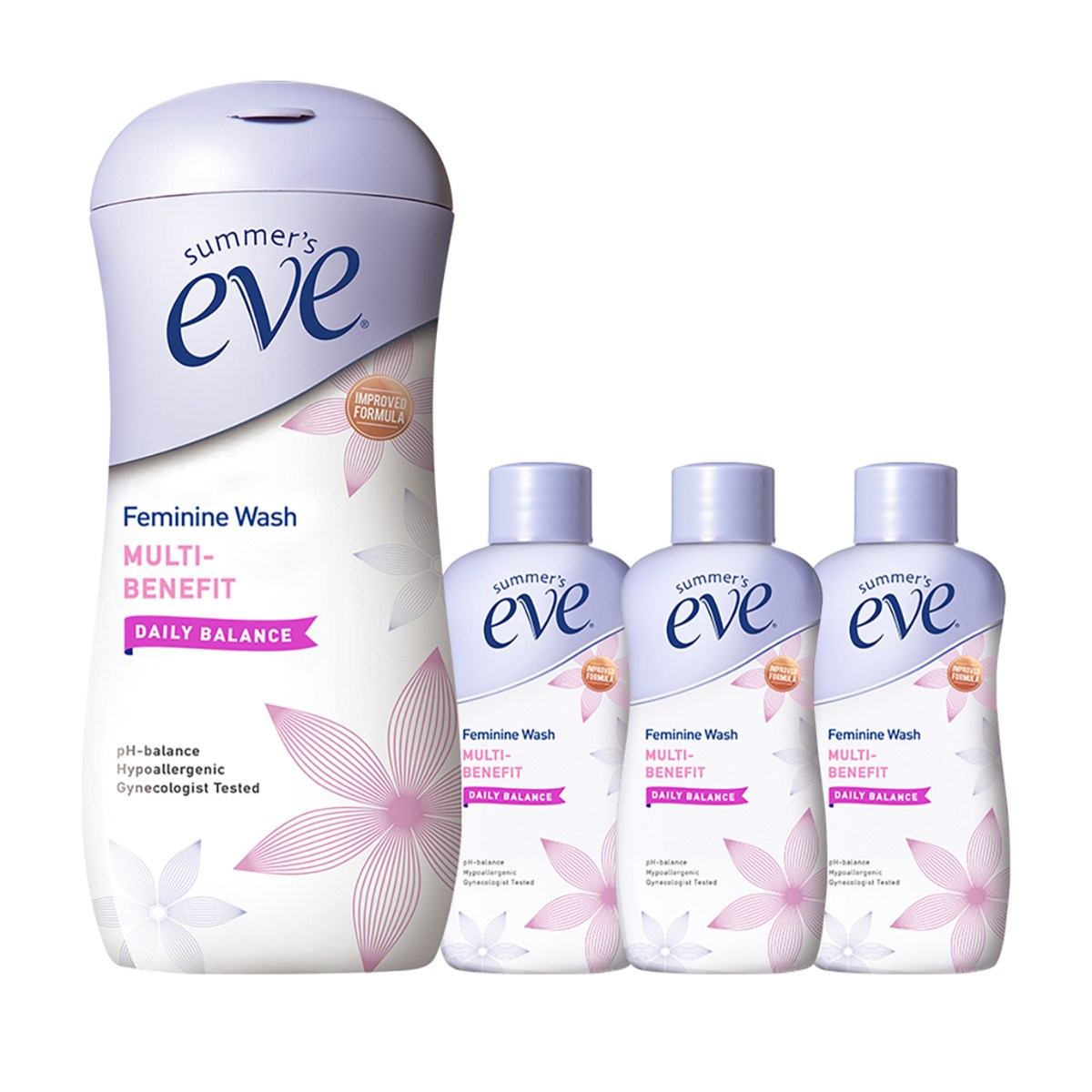 썸머스 이브 여성청결제 237ml+ 59mlx3 Summers Eve Feminine Wash 237ml+ 59mlx3