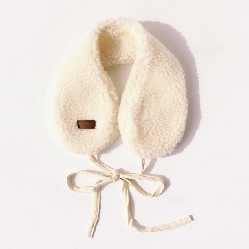 미모양 털귀마개 뽀글이 양털 귀도리 7컬러