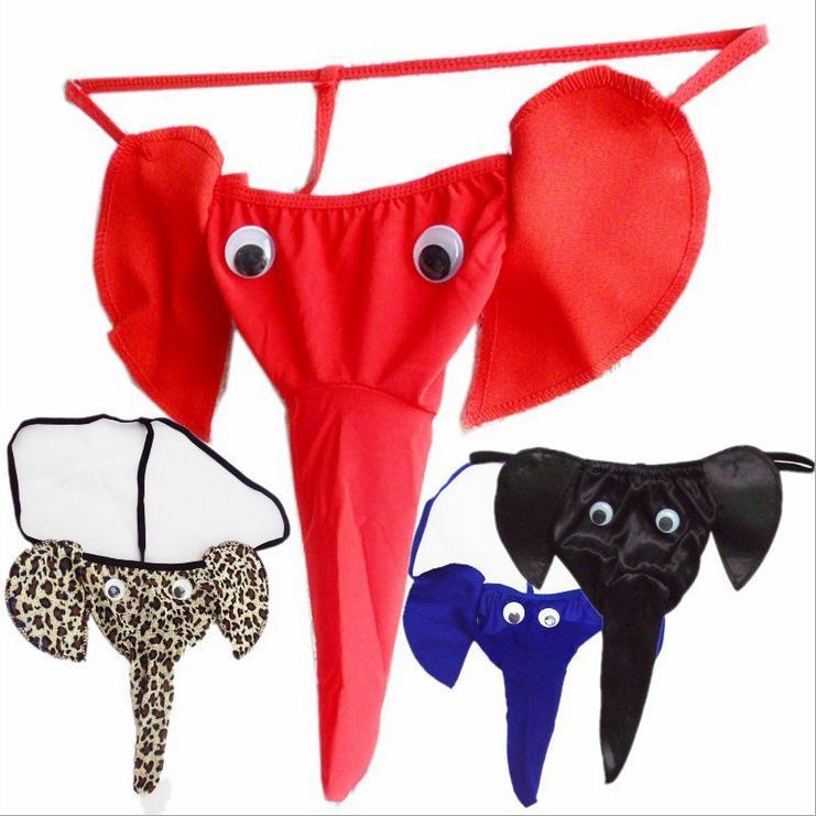 NJTRADE 남자코끼리팬티 이벤트속옷 낭심분리 티팬티 기념일